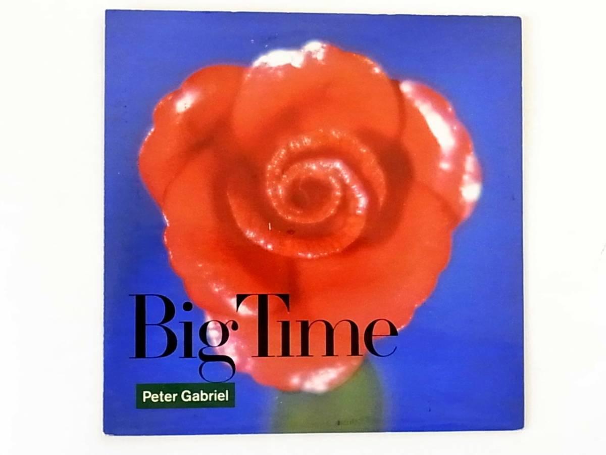 [p095]★UK盤EP★ピーター・ガブリエル★Peter Gabriel ★Big Time★Genesis★7inch★7インチ★シングル_画像1