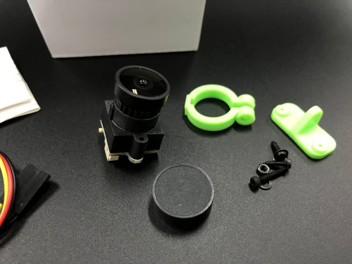 ★激安★FPV超小型FLYZONE 1000TVL1/3 FPV (2.5mm)カメラ  超小型 (PAL/NTSC 選択可能) AA_画像1
