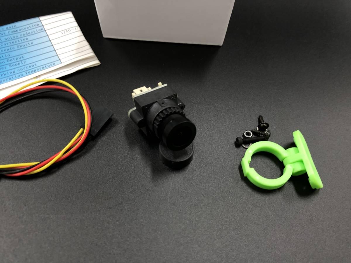 ★激安★FPV超小型FLYZONE 1000TVL1/3 FPV (2.8mm)カメラ  超小型 (PAL/NTSC 選択可能) AAAA_画像2