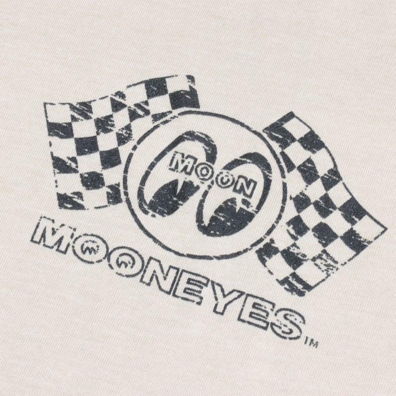 送料200円 MOON Drag Strip Tシャツ MOONEYES ムーンアイズ [TM789] Sサイズ BK_イメージ画像