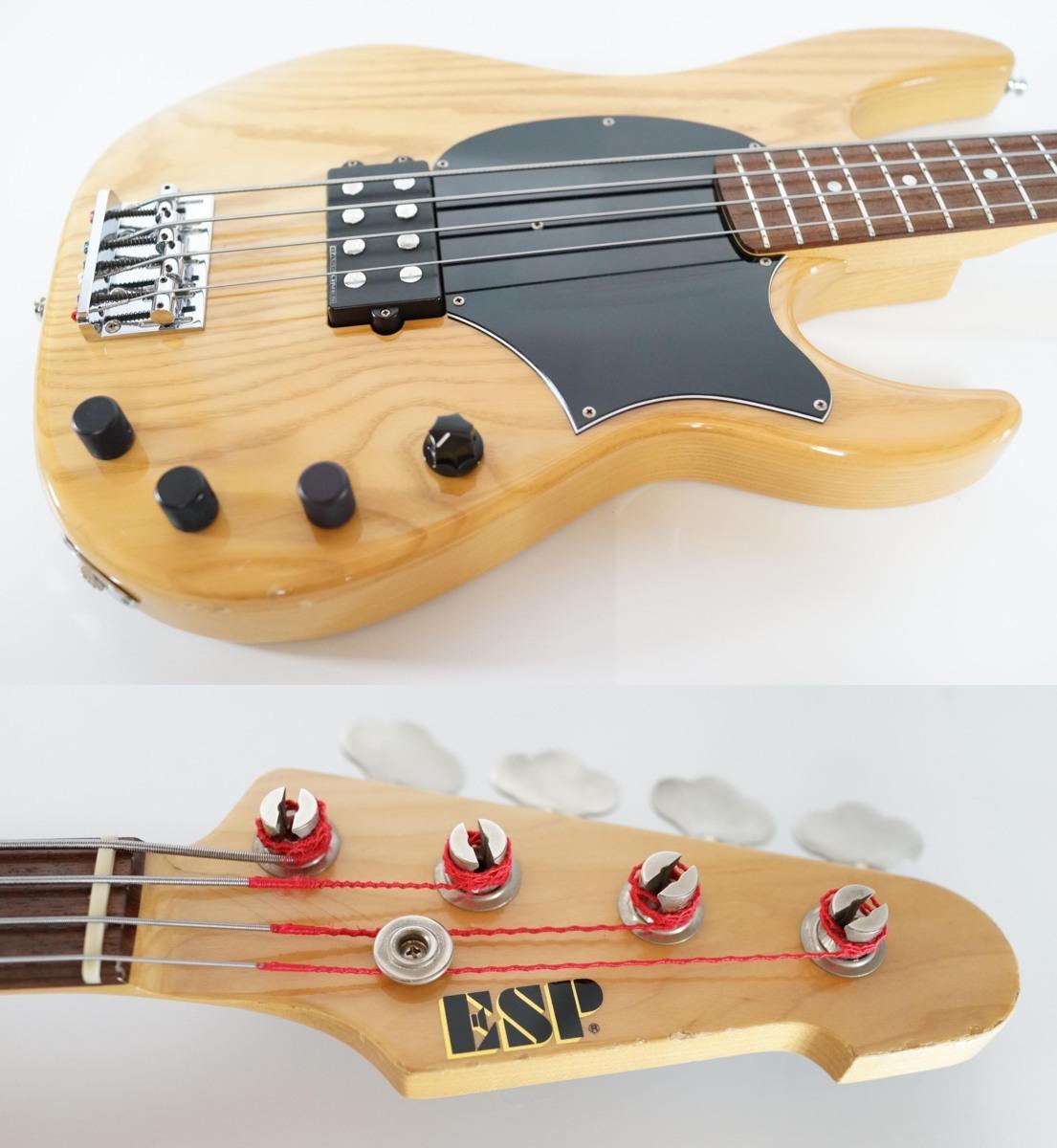 「ESP AP-200 Natural Ashボディ Seymour Duncanピックアップ搭載モデル (ESP エレキベース)」の画像