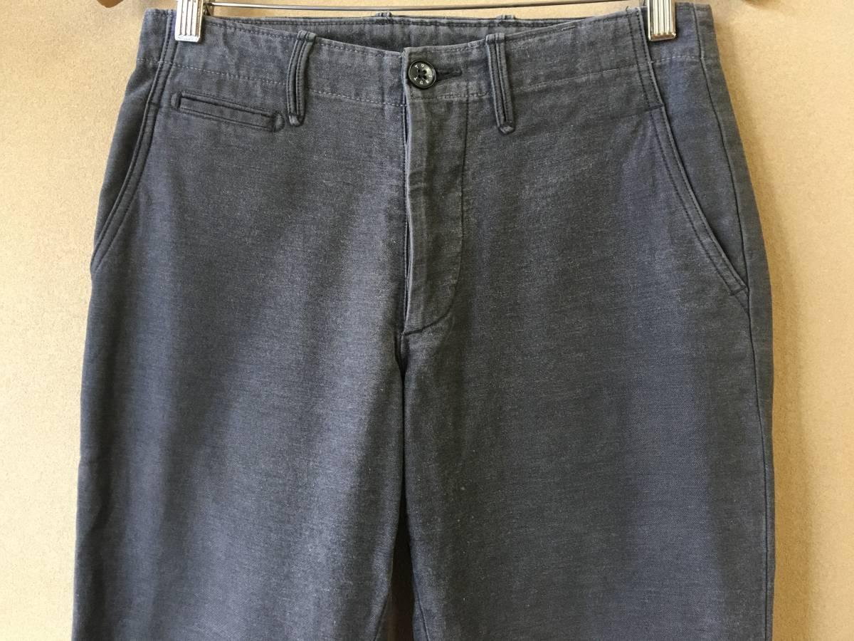 【TUKI/ツキ】STYLE0009 WEST POINT CLOTH CHINO PANTS ウエストポイントクロス チノパンツ 原田服飾研究所 トラウザーズ ボトムス
