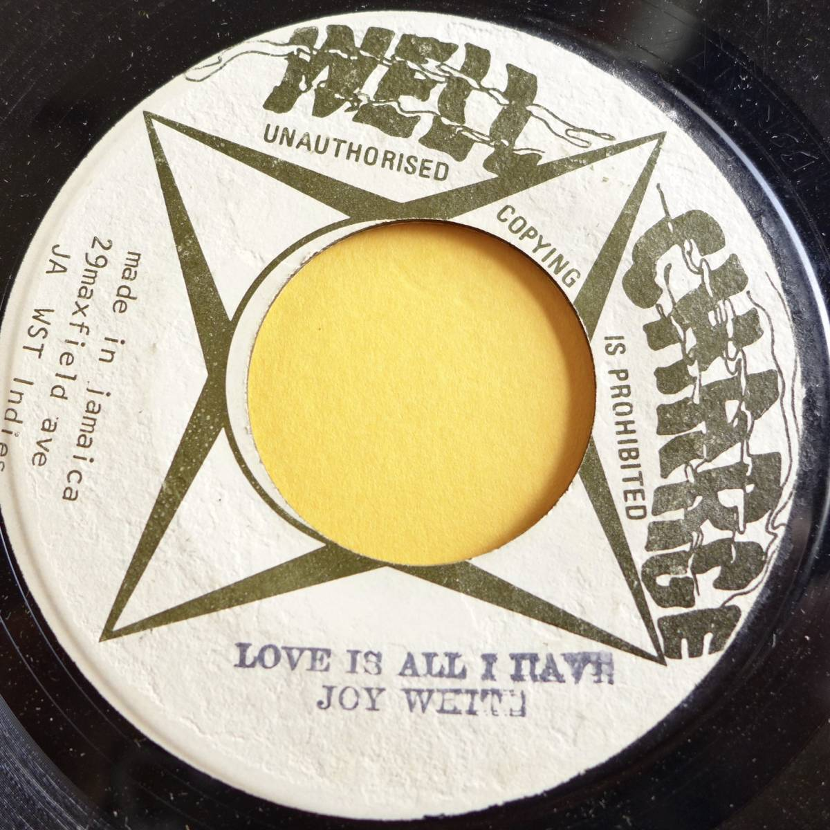♀ JOY WHITE / LOVE IS ALL I HAVE [ WELL CHARGE ] 7 killer female roots lovers_画像1