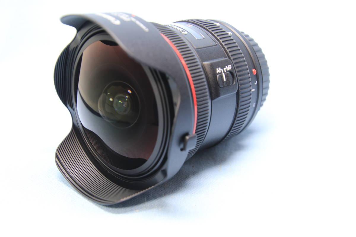 Canon キャノン FISHEYE 8-15mm 1:4 L USM レンズ 美品~�婴昵肖�