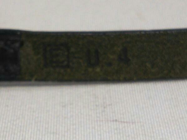 【即決】エルメス HERMES アピ3 チョーカー ブレスレット バングル レザー 黒 シルバー ?E_画像4