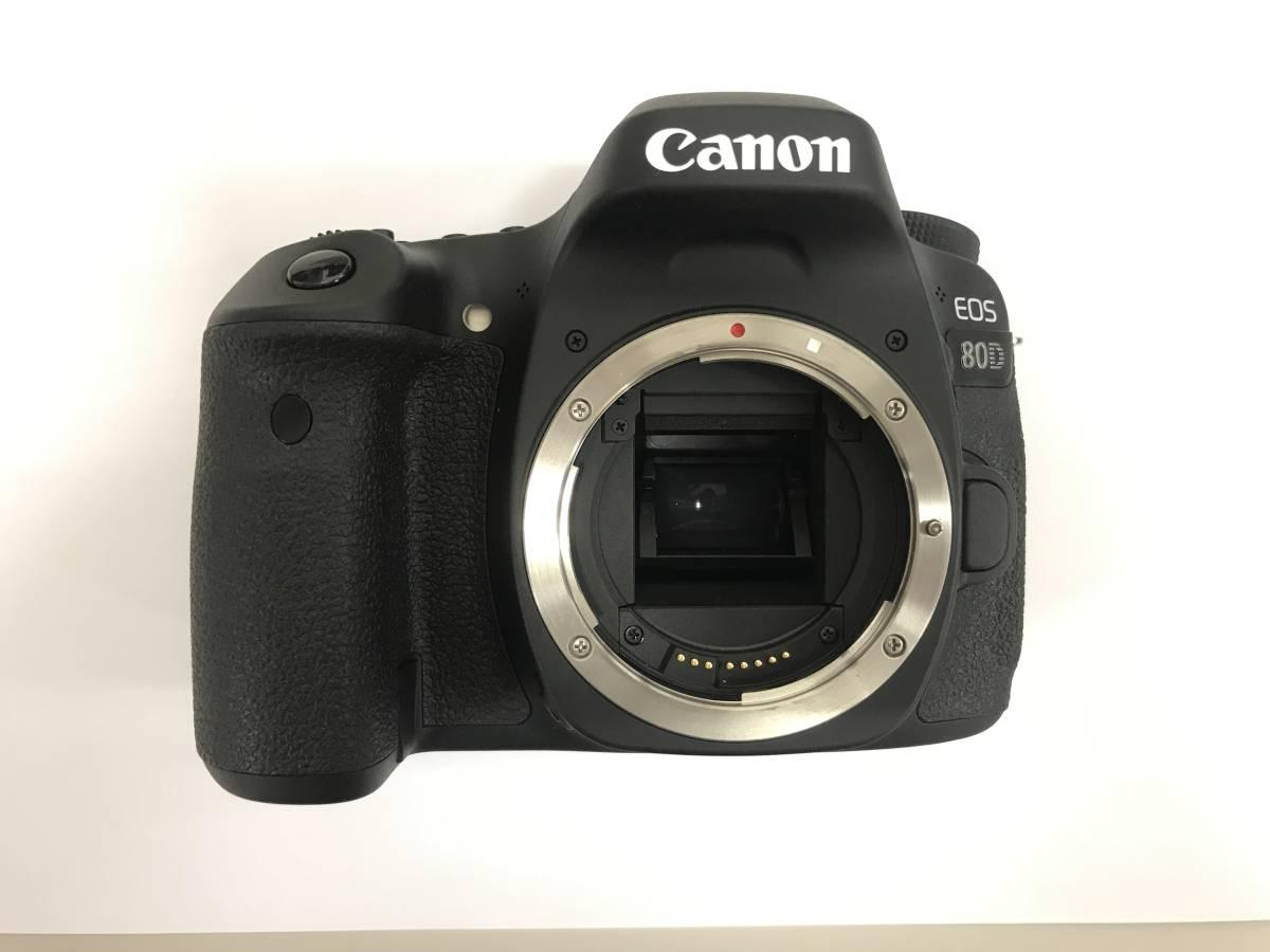 ★中古品★ キャノン Canon EOS 80D ボディ 一眼レフカメラ ※簡易動作確認済
