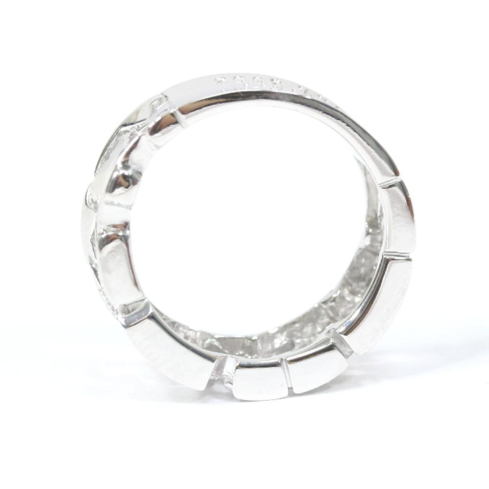 即決 スタージュエリー スター リング・指輪 レディース K18ホワイトゴールド ダイヤモンド ジュエリー 8.5号 シルバー_画像5