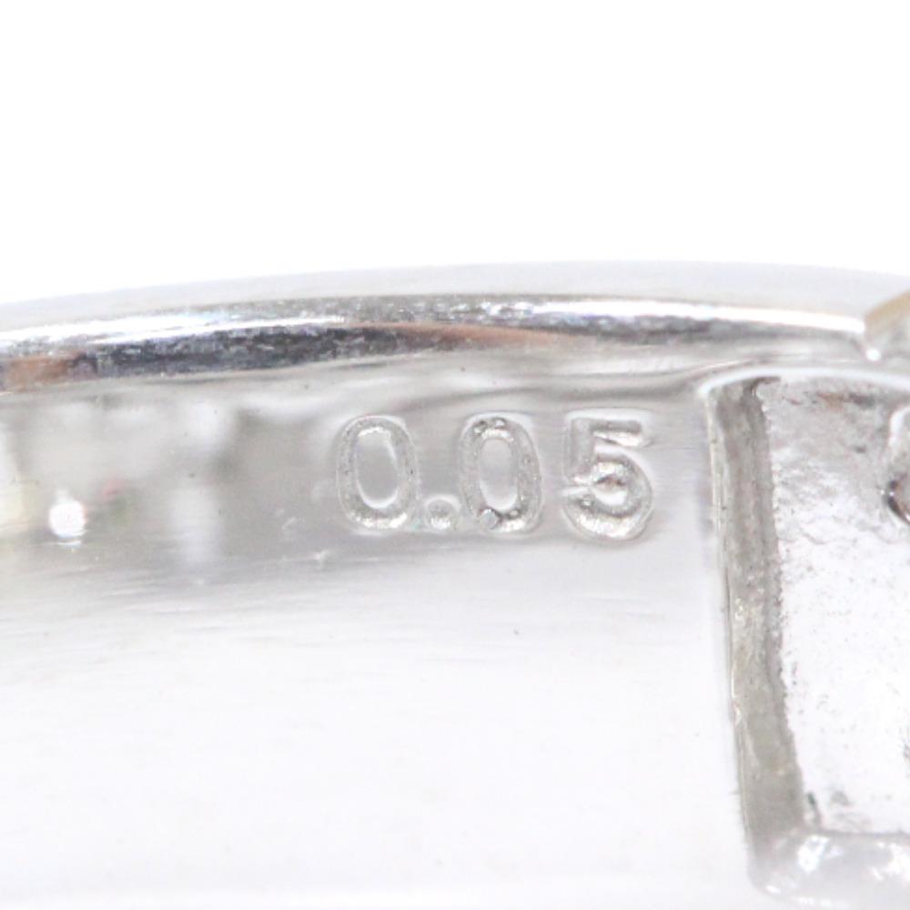 即決 スタージュエリー スター リング・指輪 レディース K18ホワイトゴールド ダイヤモンド ジュエリー 8.5号 シルバー_画像7