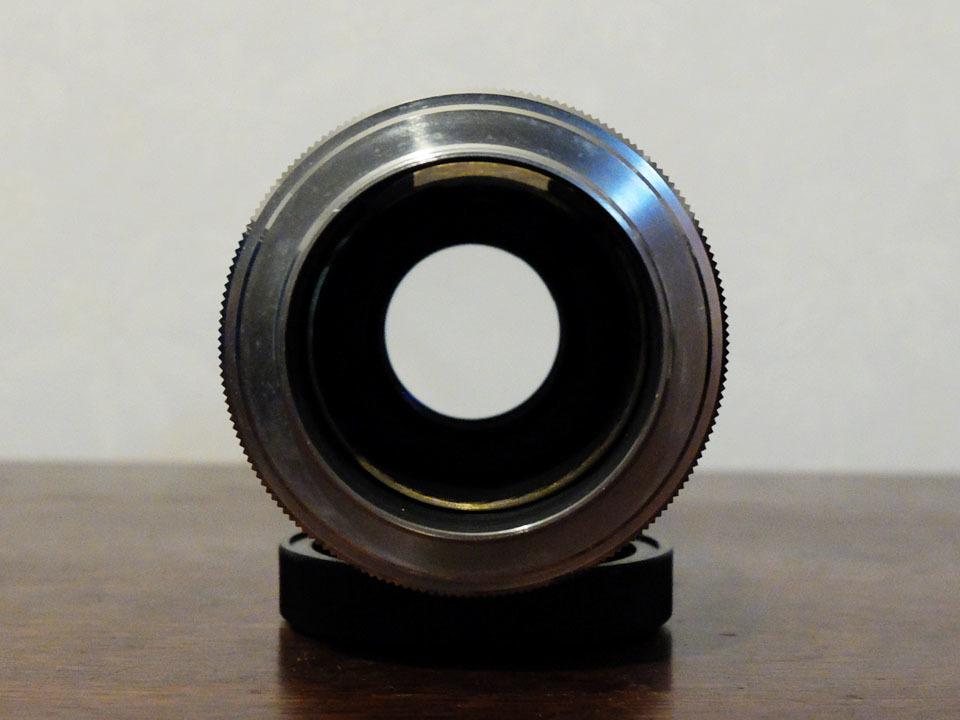 【中古/ジャンク】キヤノン 135mm f3.5 (Lマウント) +135mmファインダー:Canon 135mm f3.5 (L-Mount) with 135mm Finder_画像5