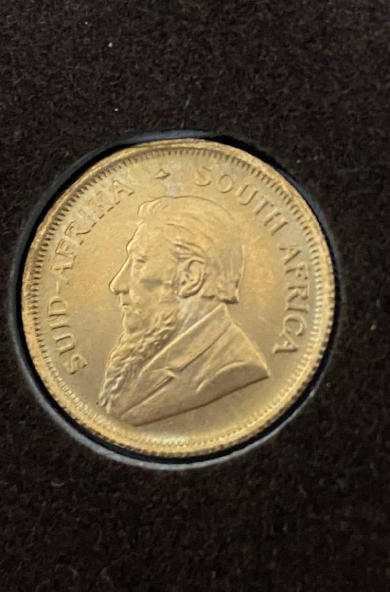 南アフリカ 1983年 クルーガーランド金貨 1/10オンス K22 本物保証_画像8