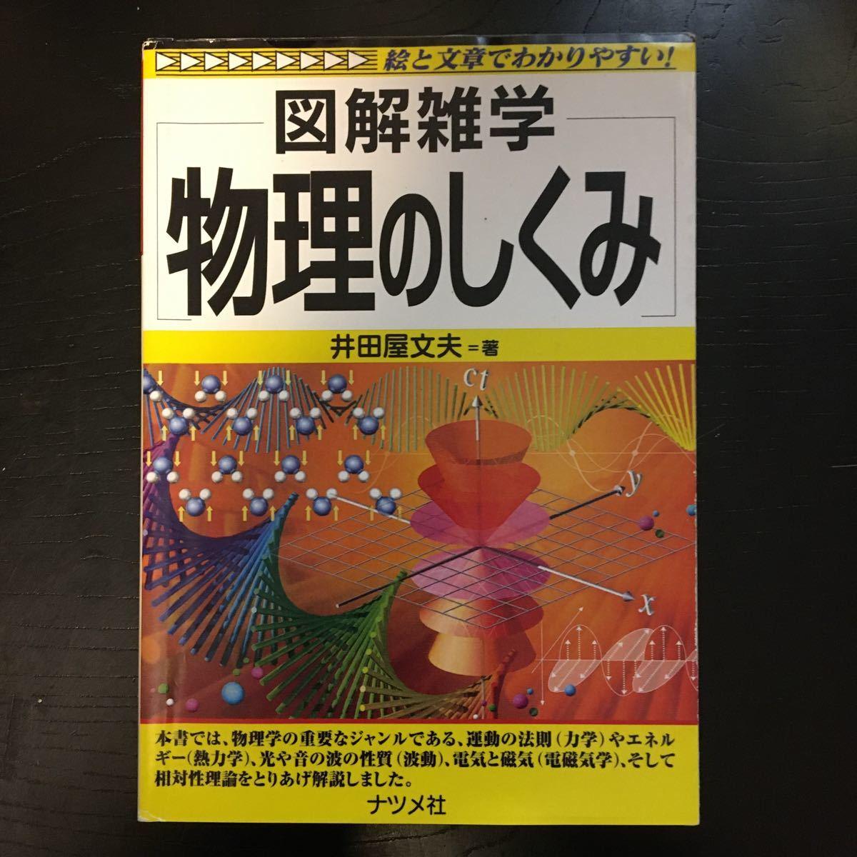 ♪物理のしくみ (図解雑学)井田屋 文夫 (著) (日本語) 単行本 2005/8/1 z-62_画像1