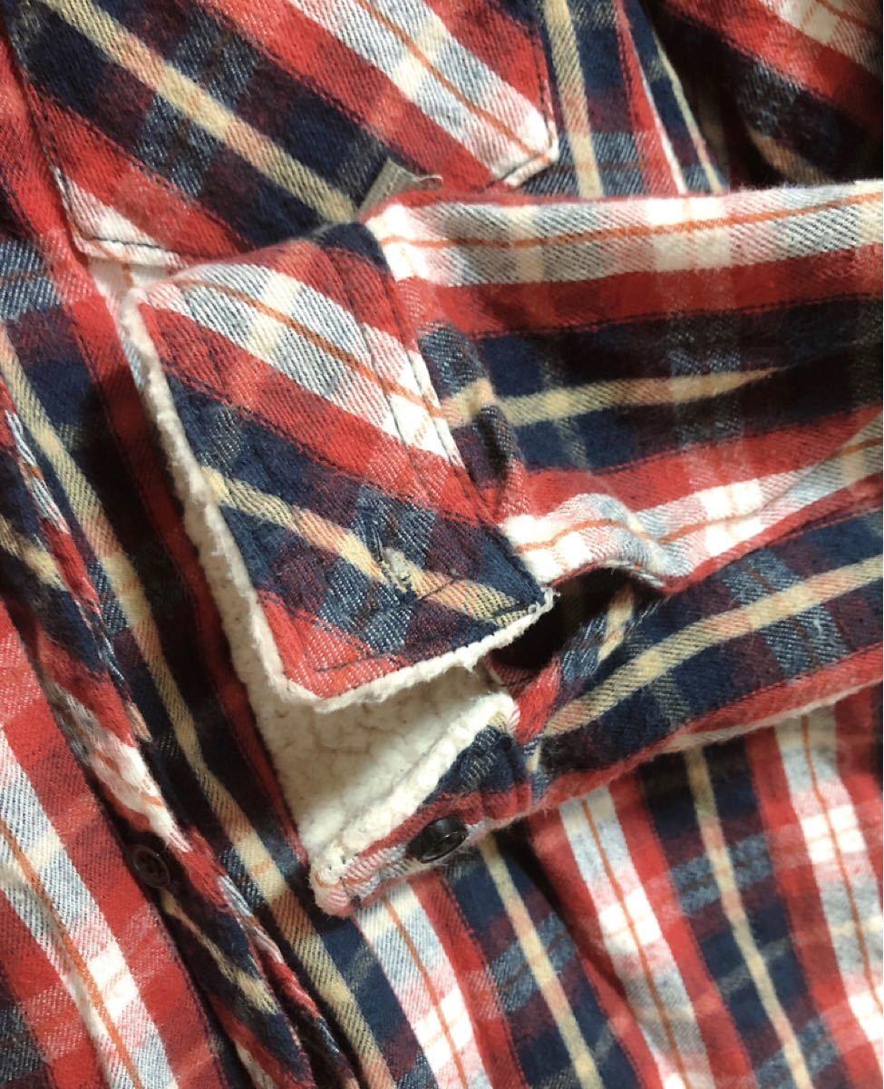 長袖シャツ チェックシャツ ネルシャツ 大きいサイズ