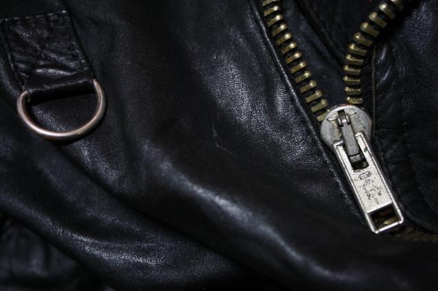 希少 当時 個人カスタム 70s ビンテージ Dカン UK ロンジャン レザー ライダース■666 ラロッカ カンプリ ルイスレザー PUNK レザー Schott_画像7