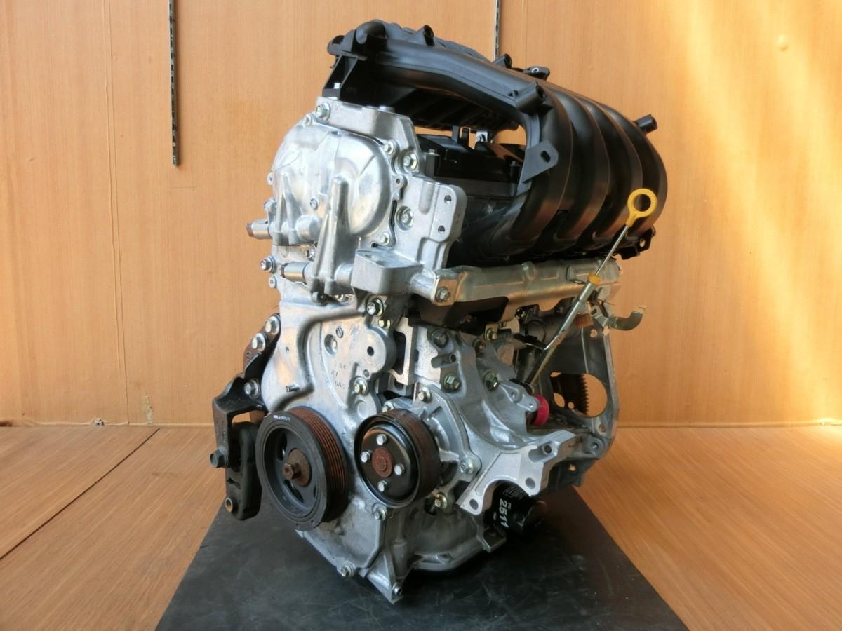 H26 セレナ HFC26 MR20DD エンジン本体_画像5