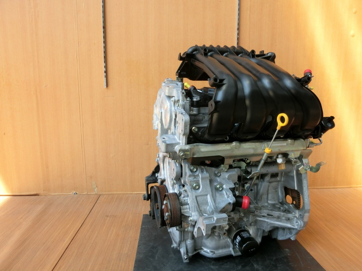 H26 セレナ HFC26 MR20DD エンジン本体_画像4