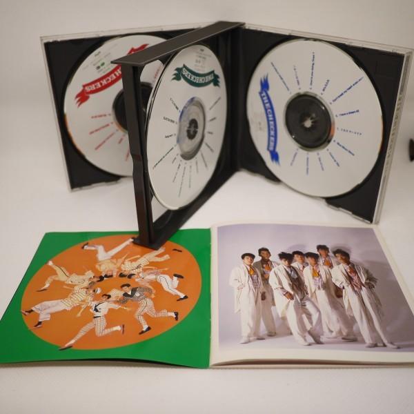 送料無料 即決 2999円 CD 1257 チェッカーズ THE CHECKERS ベスト盤 3枚組 藤井フミヤ ブックレット型歌詞カード付 全41曲収録_画像3