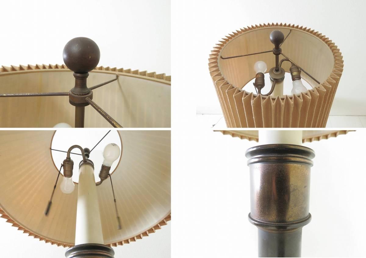 アメリカ STIFFEL テーブルスタンド照明 ランプクラシカル検IDC大塚家具ドレクセル_画像4