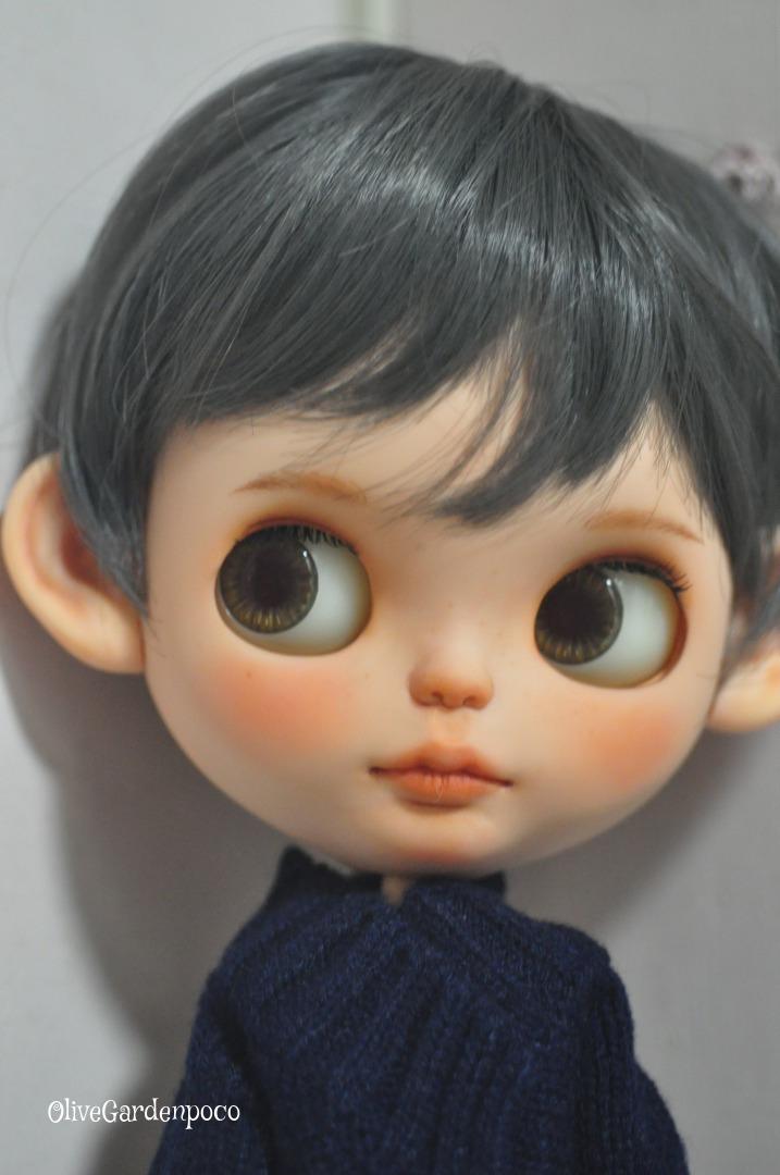 .:☆* OliveGardenpoco *☆:. カスタムブライス .:☆* whiteday サンデーズベリーベスト 男の子カスタム *☆:. Blythe custom