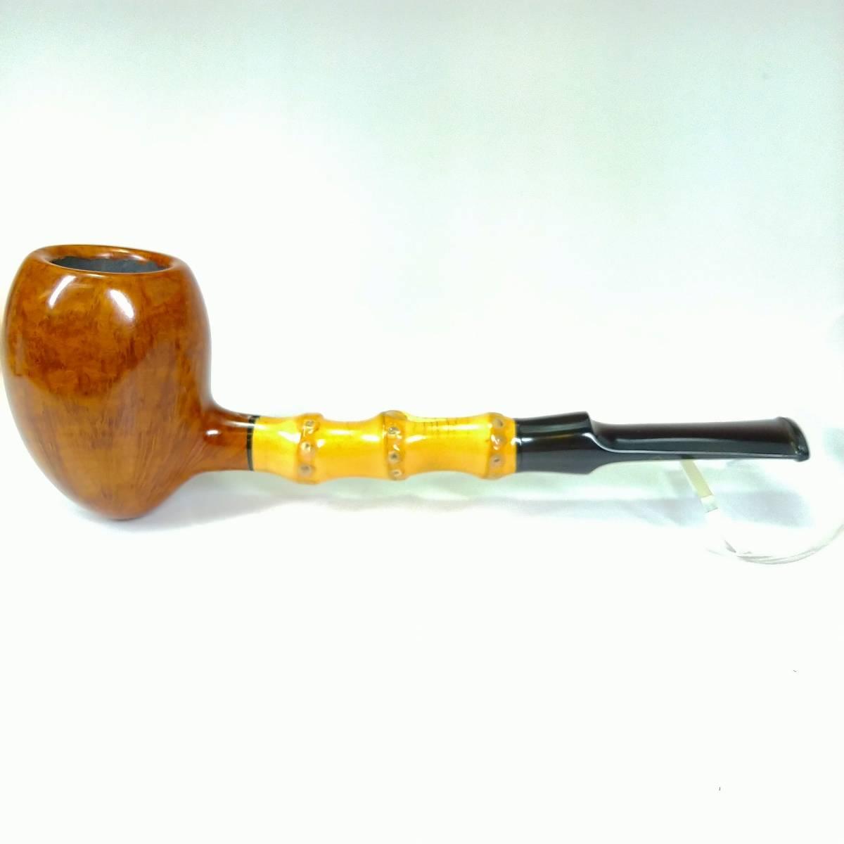 【送料無料・新品】ハンドメイド ツゲ(TSUGE) イケバナ 175/00 grade:H パイプ 喫煙具