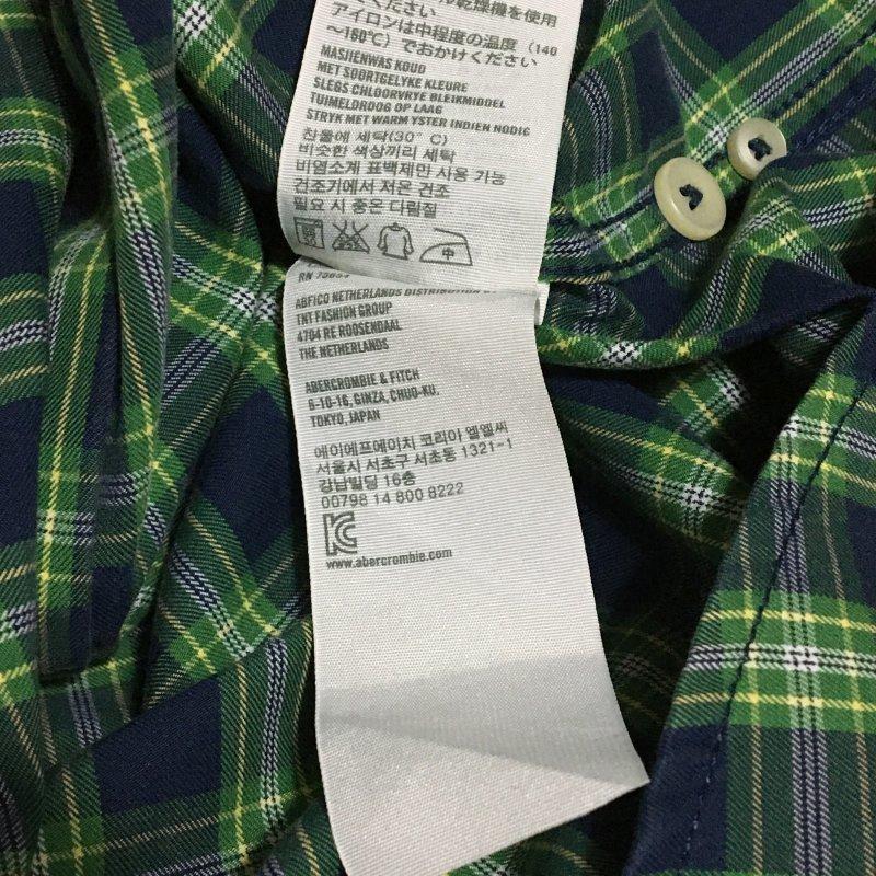 《郵送無料》■Ijinko★アバクロンビー&フィッチ Abercrombie & Fitch muscle★ S サイズ長袖シャツ