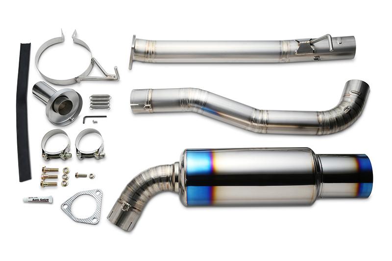 リアルスピードエンジニアリング フルチタンマフラー S2000 AP1 F20C RB6090-HN04A_画像1