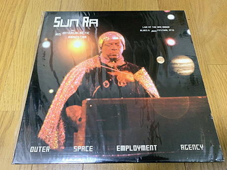 [Sun Ra And His Intergalactic Arkestra / Outer Space Employment Agency] ジャズ サン・ラー free jazz_画像1