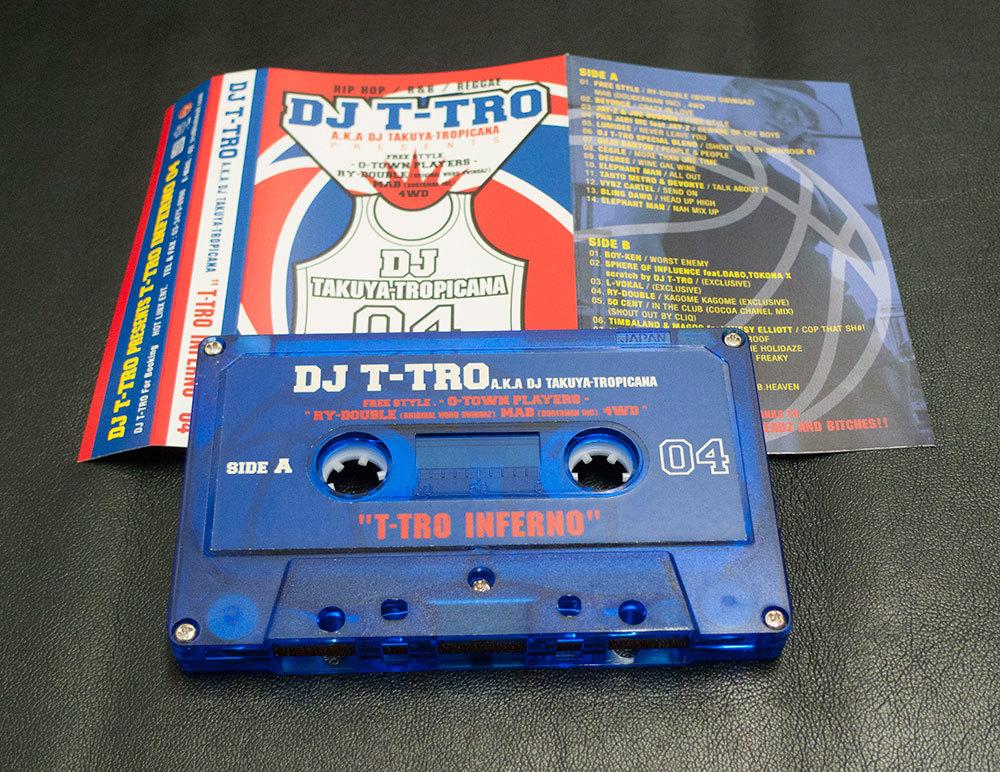 DJ T-TRO T-TRO INFERNO 04 MIX TAPE ミックステープ