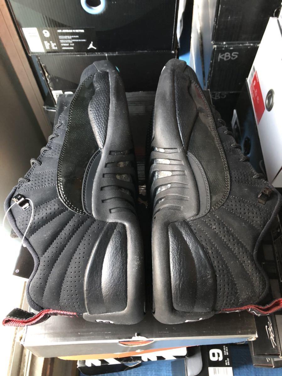 Nike Air Jordan12 Retro Low(ジョーダン)黒黒赤 us9(27cm)新品_画像3