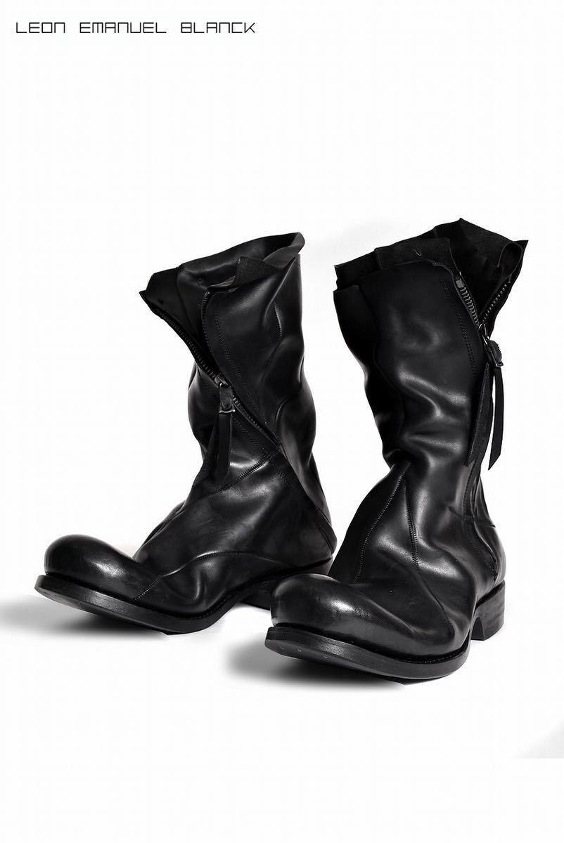 LEON EMANUEL BLANCK x Dimissianos&Miller DISTORTION COMBAT BOOT GUIDI HORSE LEATHERロングブーツ incarnationなど好きな方