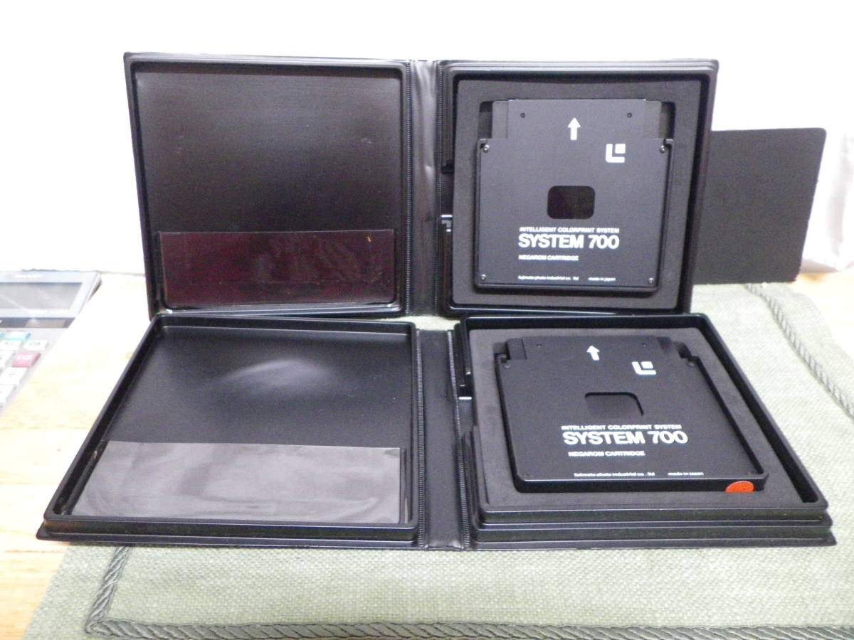 美品☆藤本写真工業 NEGAROM CARTRIDGE INTELLIGENT COLORPRINT SYSTEM SYSTEM700 2個 _画像1