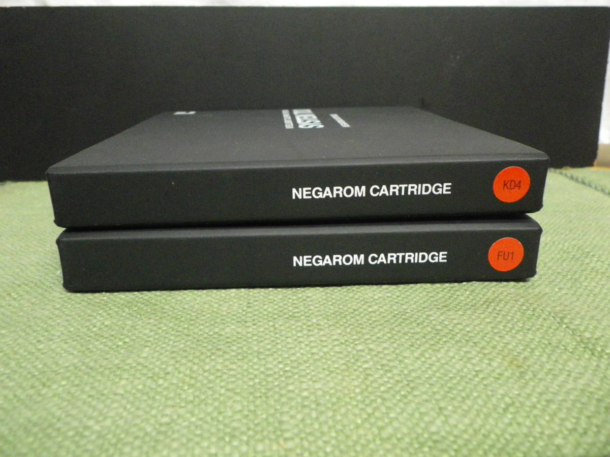 美品☆藤本写真工業 NEGAROM CARTRIDGE INTELLIGENT COLORPRINT SYSTEM SYSTEM700 2個 _画像5
