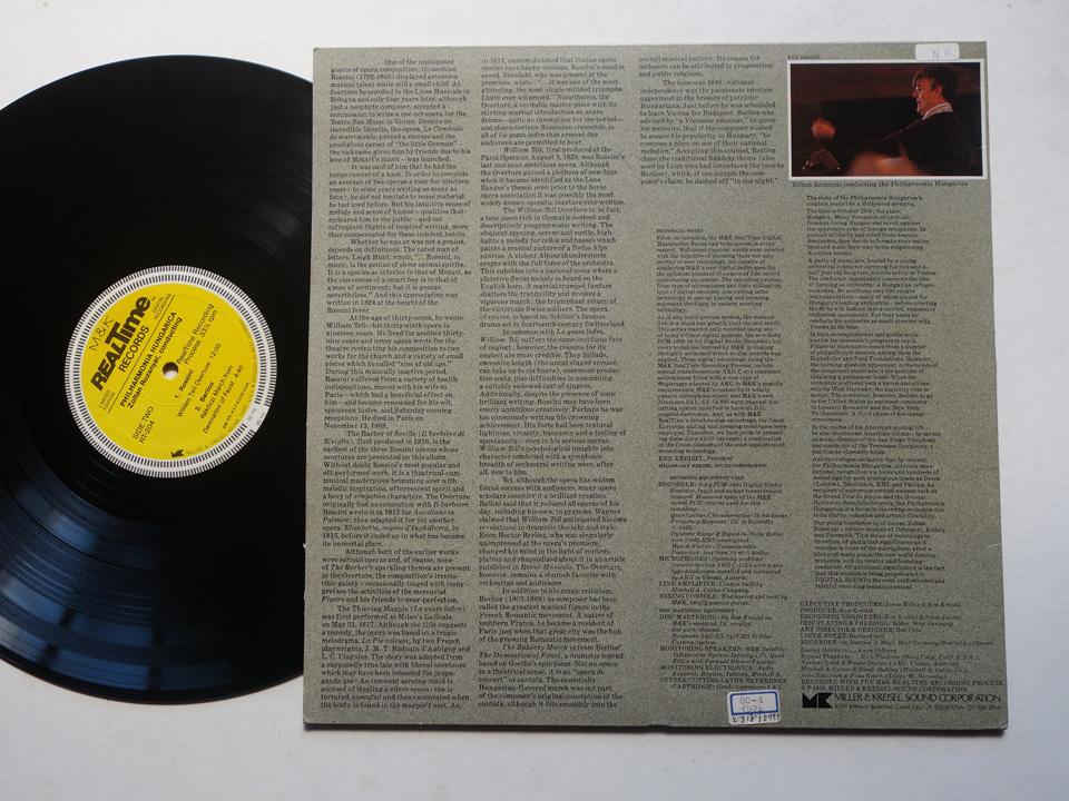 ドイツ製の超高音質盤 長岡鉄男絶賛のM&K Realtime(フラメンコ・フィーバーのレーベル)/ デジタル録音 / LImited Edition / RT-204_画像2