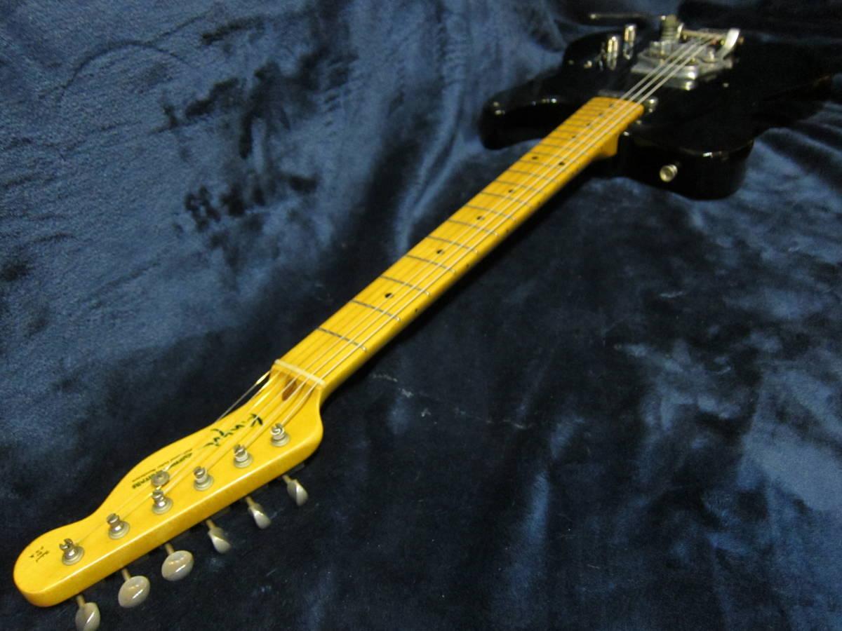 即決☆K.Nyui Custom Guitars KNTE☆Bigsby&Lollarピックアップ搭載の激レアモデル♪_画像6