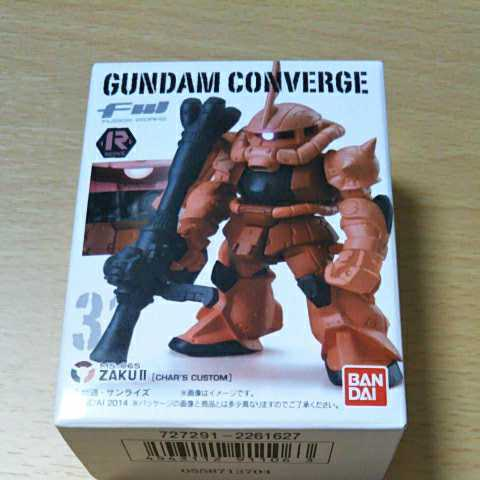 ザクⅡ シャア専用 31 REVIVE FW GUNDAM CONVERGE ガンダムコンバージ