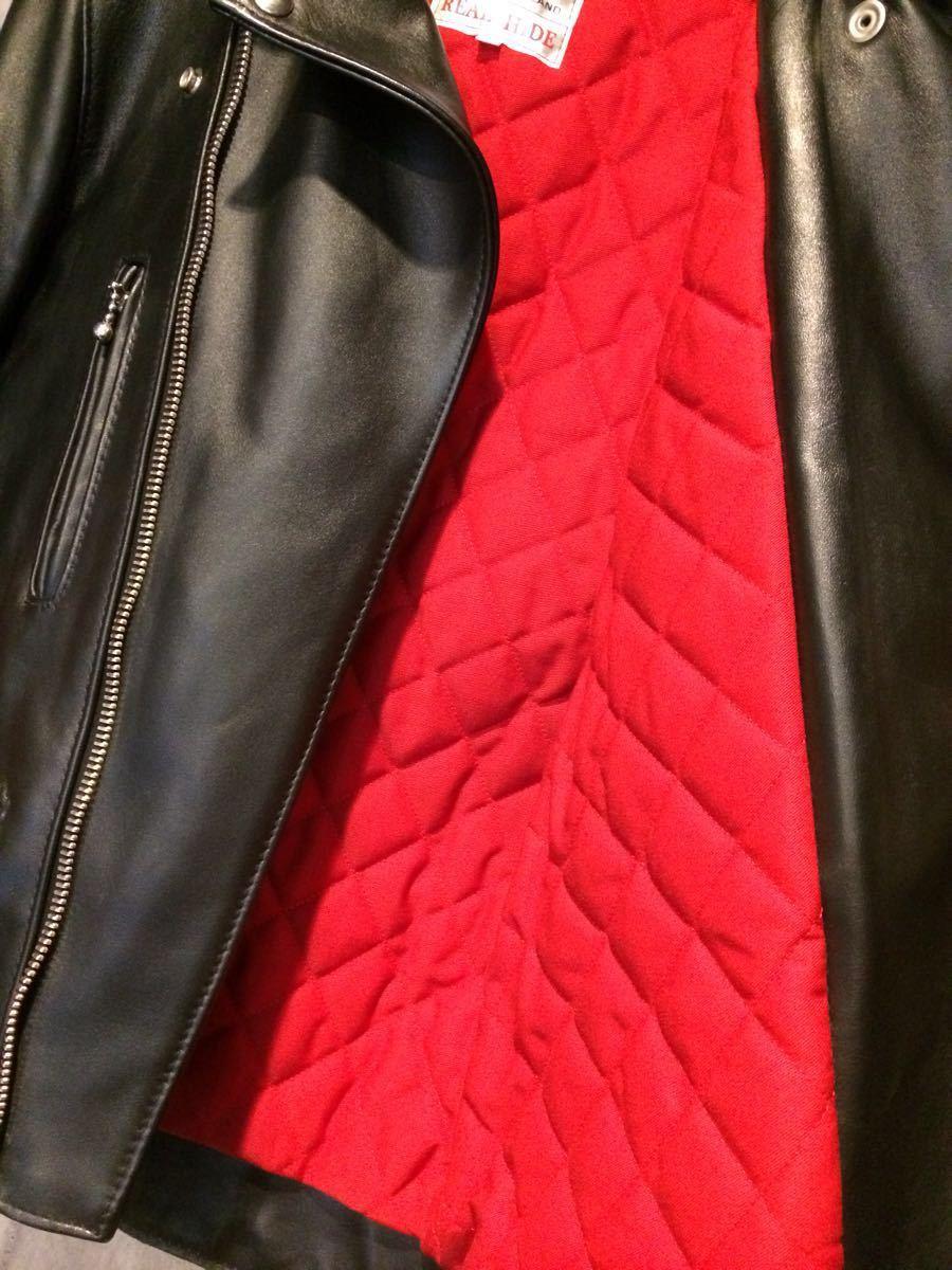 試着のみ/ほぼ未使用/lewis leathers ルイスレザー 391T ライトニング タイトフィット ホース ライダースジャケット 36 メンズ サイクロン_画像8