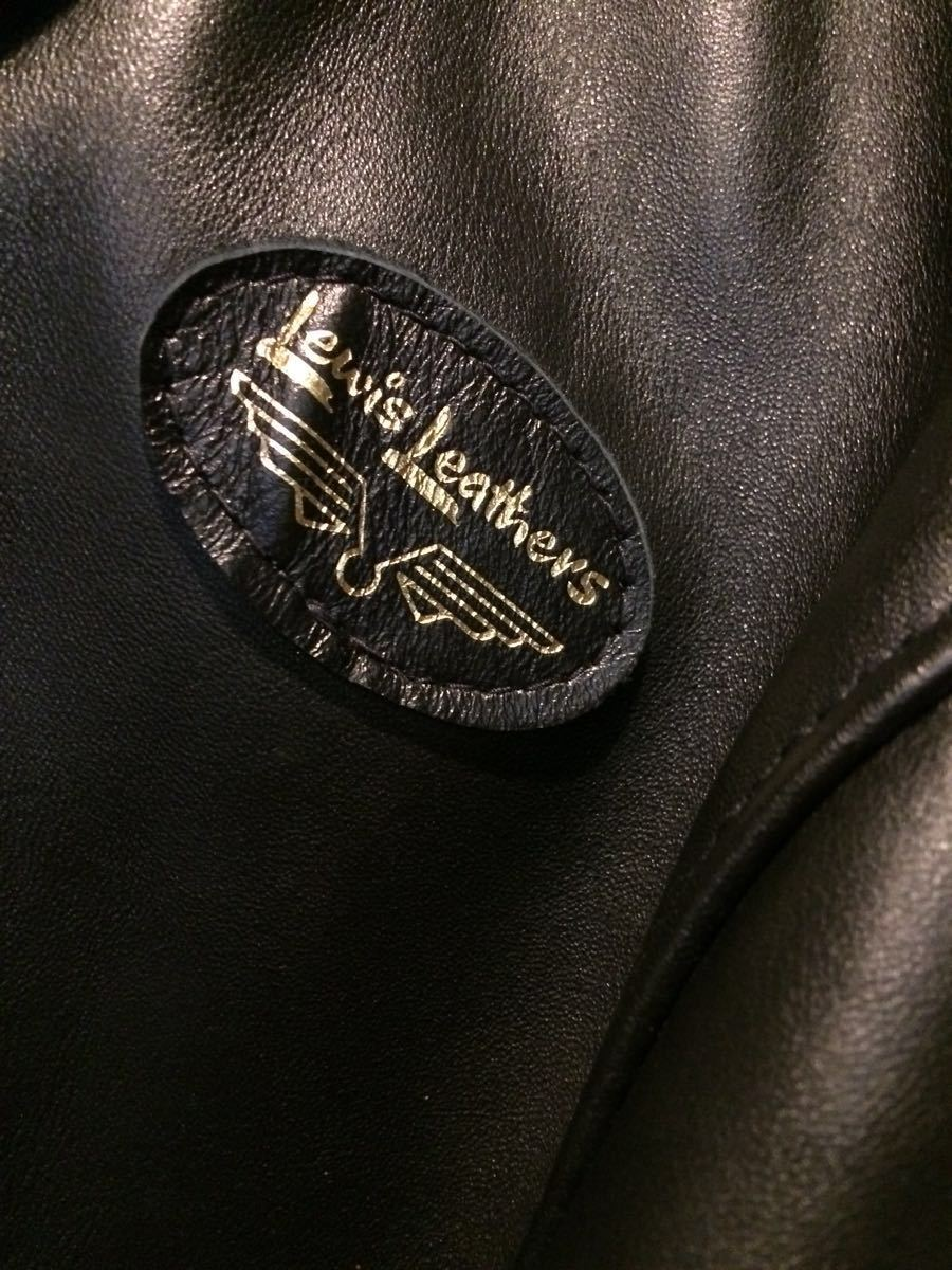 試着のみ/ほぼ未使用/lewis leathers ルイスレザー 391T ライトニング タイトフィット ホース ライダースジャケット 36 メンズ サイクロン_画像9