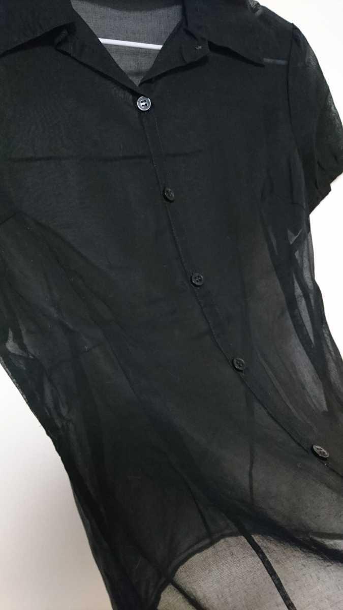 ディアプリンセス Dearprincess シフォン シャツ ブラウス 半袖シャツ レディース トップス カットソー 黒