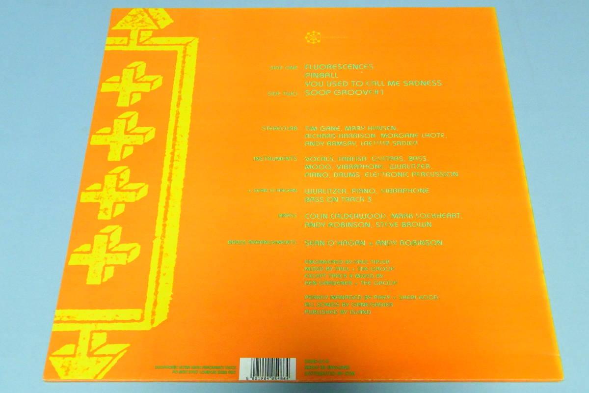 英オリジ12inch アルバム未収録 STEREOLAB FLUORESCENCES★UK ORIGINAL 4 TRACK★DUHF-D15 ステレオラブ _画像2