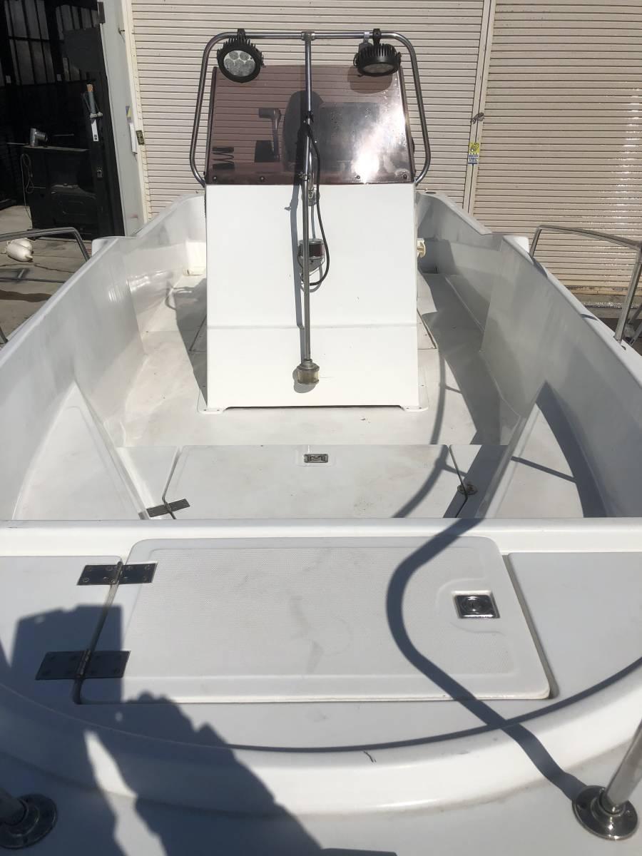 「Hamani ハマニ 200CCF 19ft センターコンソール スズキ 140 オキトレーラー 書類あり 釣り」の画像2