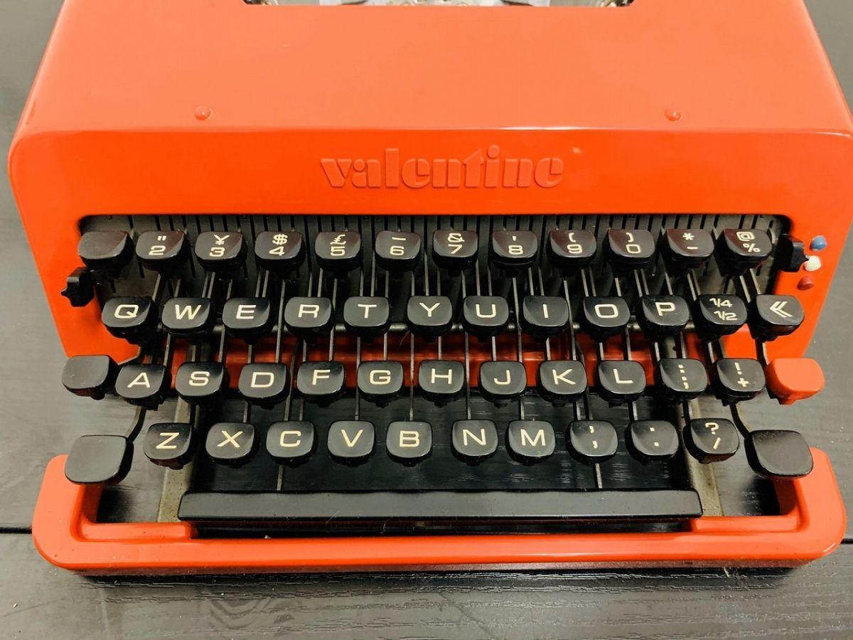 Y212-I13-1931 Olivetti オリベッティ Valentine バレンタイン タイプライター アンティーク ④_画像2