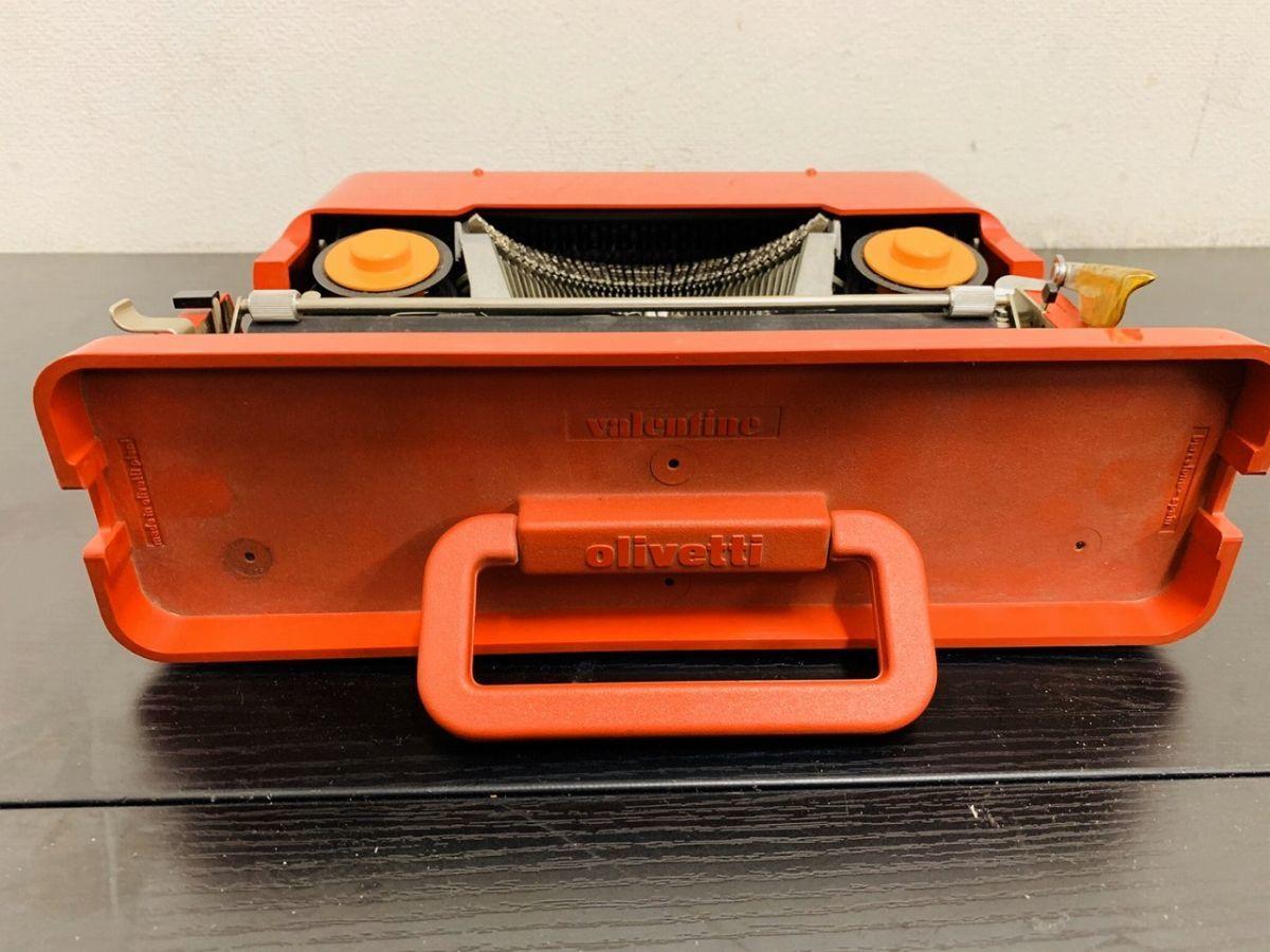 Y212-I13-1931 Olivetti オリベッティ Valentine バレンタイン タイプライター アンティーク ④_画像4