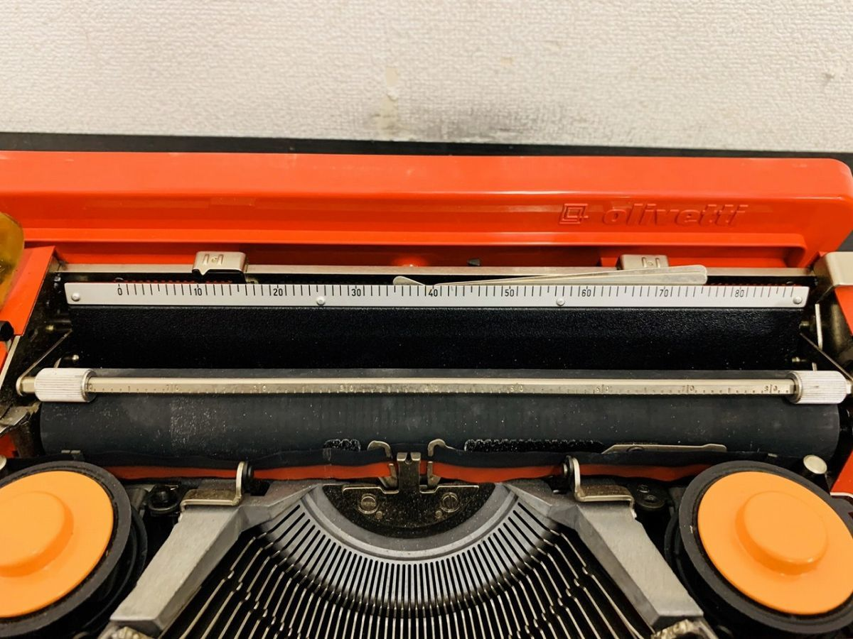 Y212-I13-1931 Olivetti オリベッティ Valentine バレンタイン タイプライター アンティーク ④_画像5