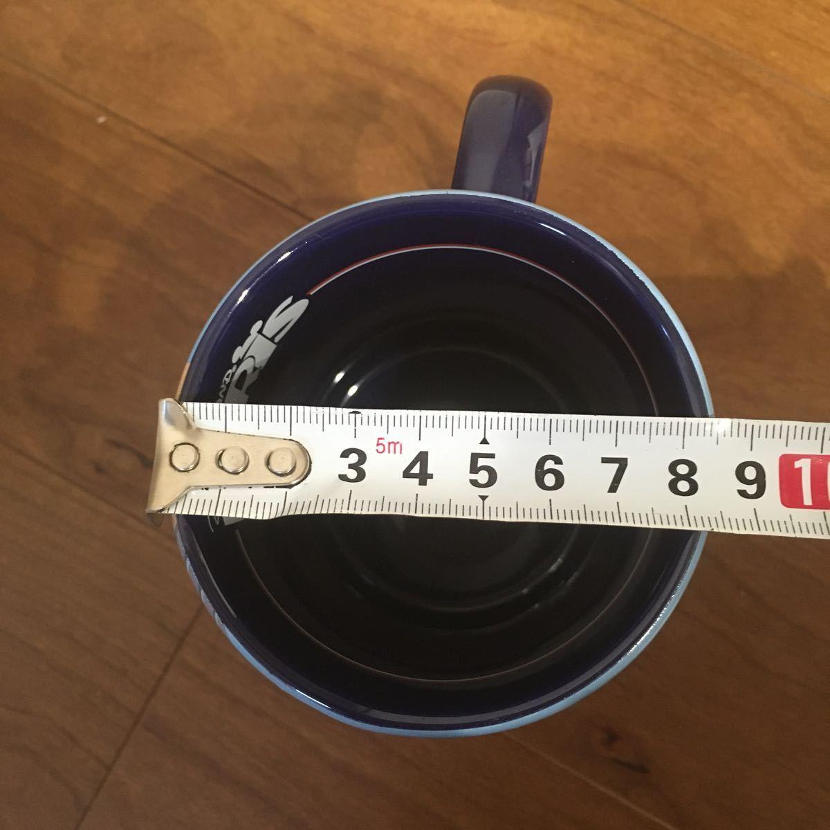 新品 未使用 パリ限定 ディズニーランド パリ PARIS マグカップ ビックサイズ ミッキー ミニー エッフェル塔 ダッフィ ロゴ入り ラメ_画像8