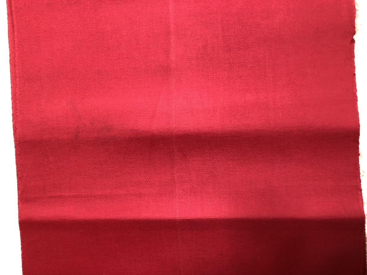 送料無料☆もみじ柄一重正絹名古屋帯 和装 着物帯♪リメイク ♪巾約30.5cm長さ約334cm_画像5