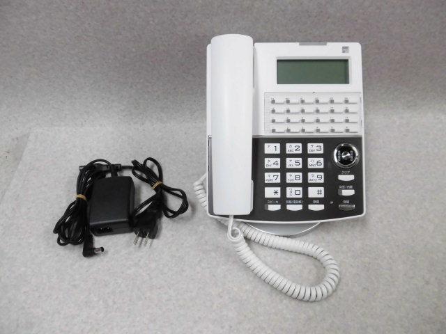 Ω ZZF1 1799♪ 保証有 18年製 きれい サクサ Saxa IP NetPhone SXⅡ IP電話機 NP330(W)(F) 通電確認済 ・祝10000!取引突破!同梱可_画像1