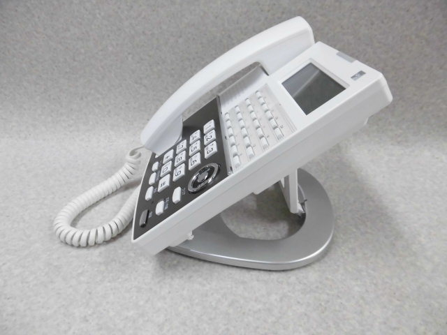 Ω ZZF1 1799♪ 保証有 18年製 きれい サクサ Saxa IP NetPhone SXⅡ IP電話機 NP330(W)(F) 通電確認済 ・祝10000!取引突破!同梱可_画像5