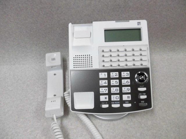 Ω ZZF1 1799♪ 保証有 18年製 きれい サクサ Saxa IP NetPhone SXⅡ IP電話機 NP330(W)(F) 通電確認済 ・祝10000!取引突破!同梱可_画像2