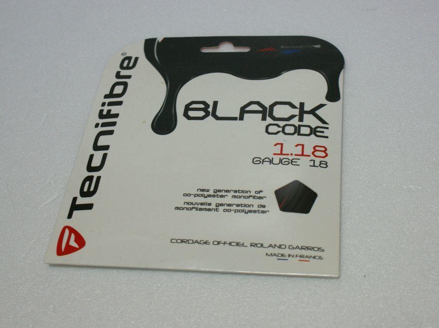 Tecnifibre/テクニファイバー製 BLACK CODE/ブラック コード 1.18 未使用品_画像1