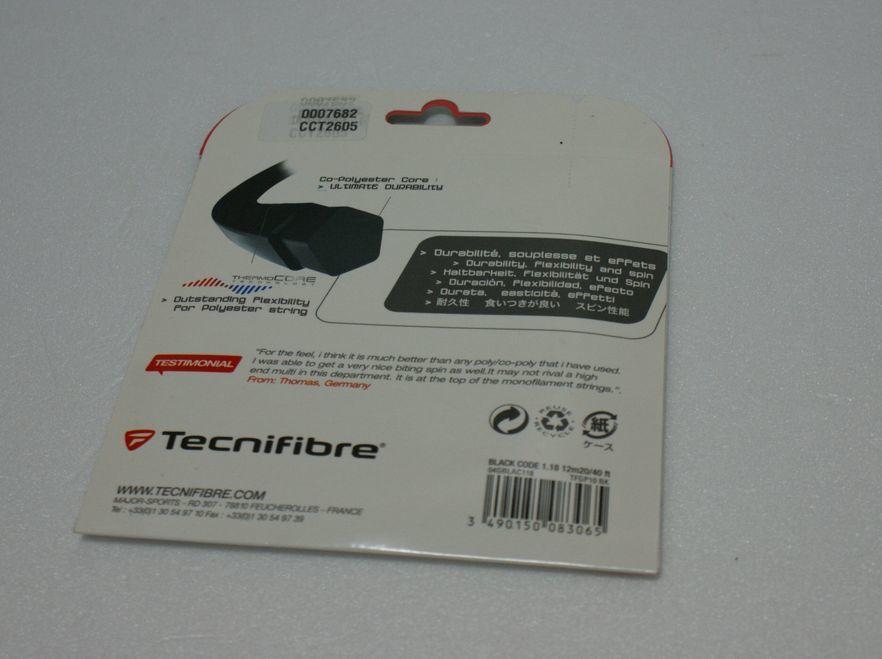 Tecnifibre/テクニファイバー製 BLACK CODE/ブラック コード 1.18 未使用品_画像2