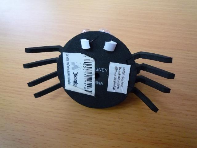 DISNEYディズニーアンテナトッパー ボール Halloween spider ハロウィーン スパイダーUSDM北米JDM_画像3